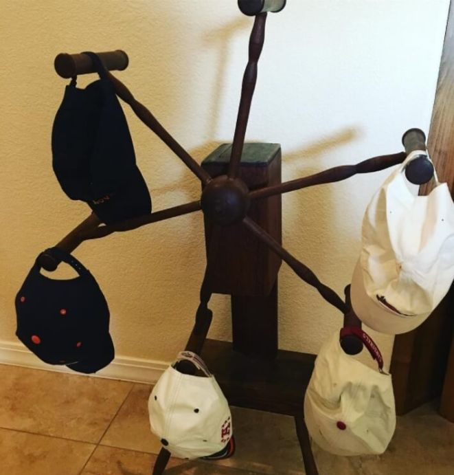 Remarkable homemade hat rack ideas #diyhatrack #hatrackideas #caprack #hanginghatrack