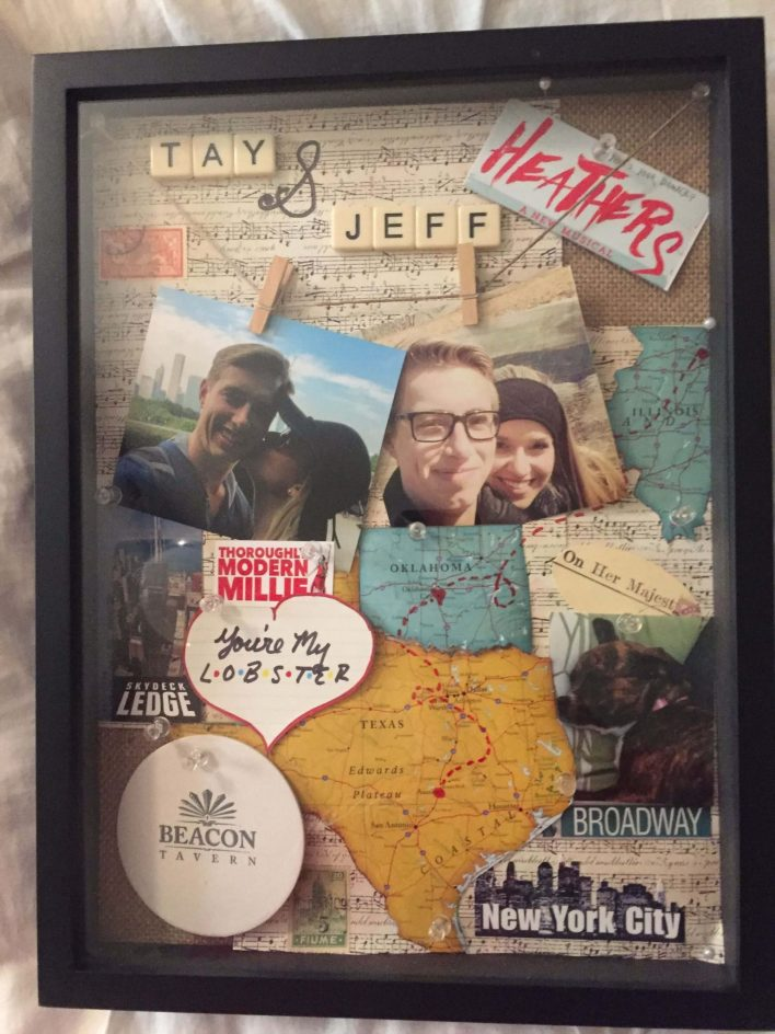 Marvelous shadow box painting ideas #shadowboxideas #giftshadowbox #shadowboxideasmilitary
