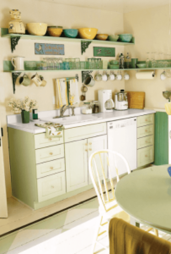 Latest good colors for kitchen cabinets #kitchenpaintideas #kitchencolors #kitchendecor #kitcheninspiration