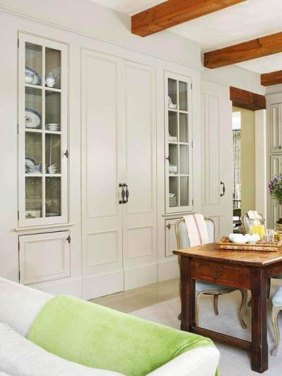Wonderful small house interior design #interiordoordesign #woodendoordesign