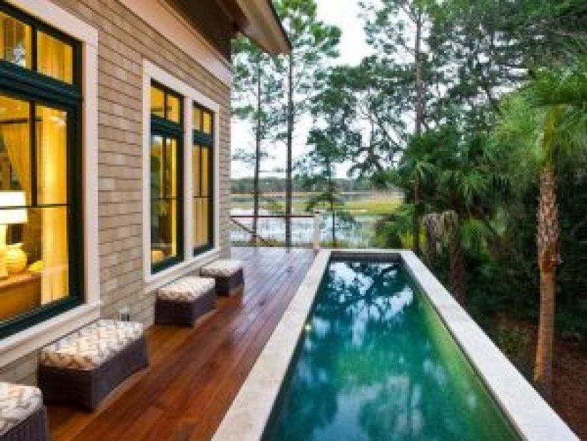 Popular best swimming pool designs #swimmingpooldesign #pooldeckandpatiodesigns #smallbackyardpools