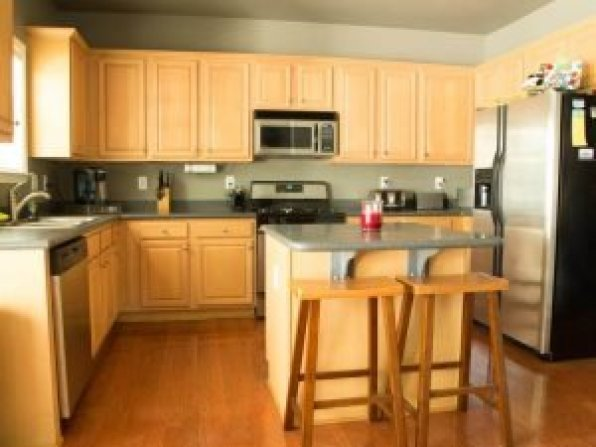 Colorful cost of replacing kitchen cupboard doors #kitchencabinetremodel #kitchencabinetrefacing