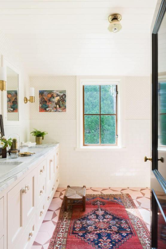 Awesome bathroom tile inspiration #bathroomtileideas #bathroomtileremodel