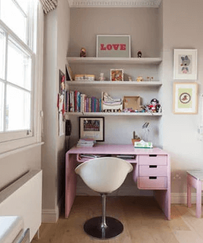 Cool Bedroom Office Ideas #homeofficedesign #homeofficeideas  #officedesignideas