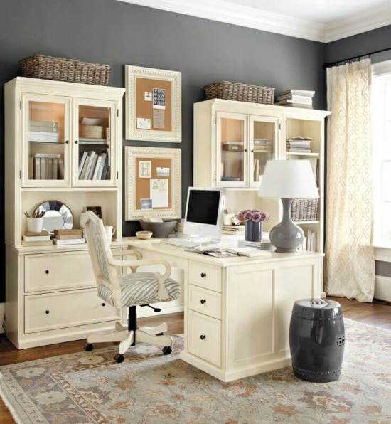 Popular home office interior design #homeofficedesign #homeofficeideas #officedesignideas