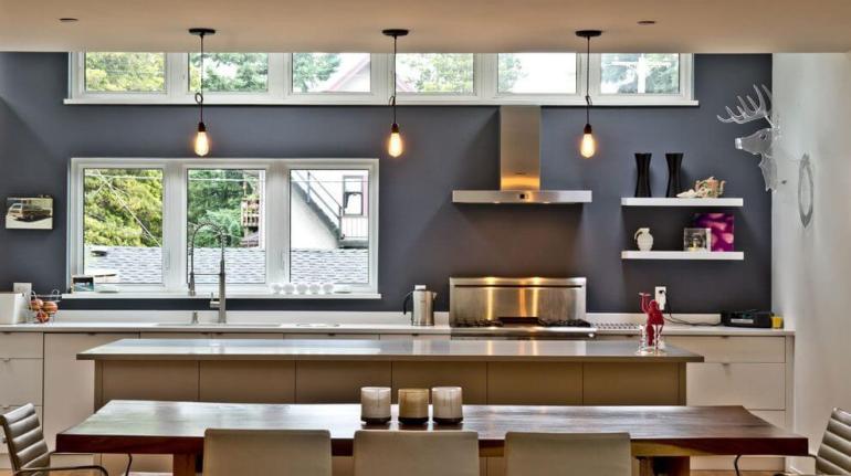 Lovely bright kitchen pendant light #kitchenlightingideas #kitchencabinetlighting