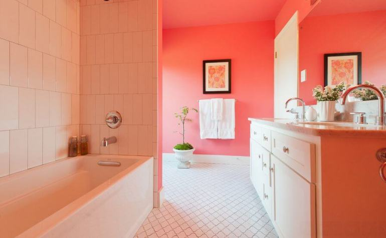 Latest small bathroom wall tiles design #bathroomtileideas #bathroomtileremodel