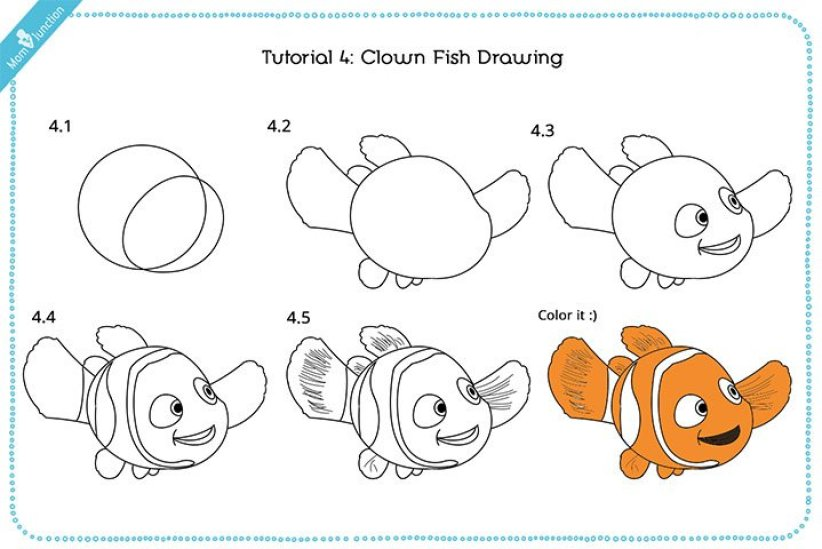 Convenient how to draw a beautiful fish #howtodrawafish