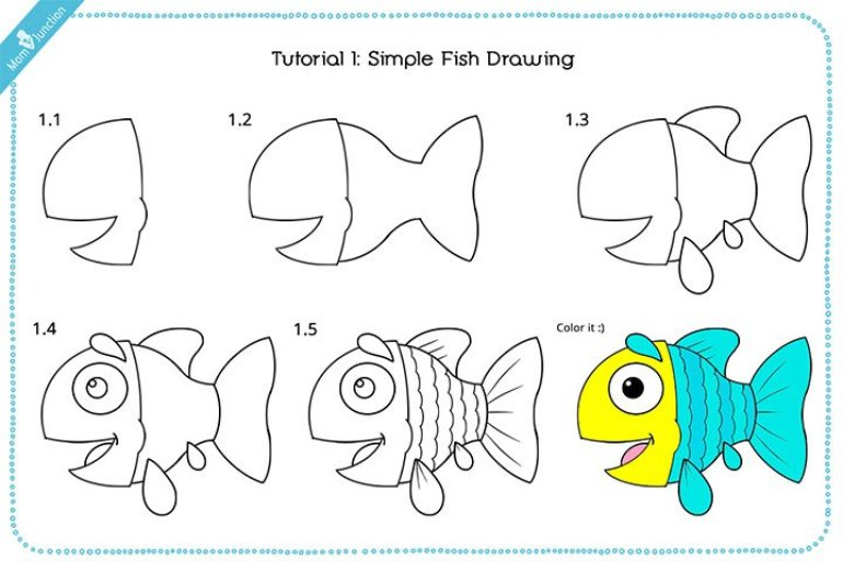 Easy how to draw a betta fish #howtodrawafish