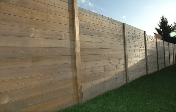 Eye-opening cheap wood fencing #privacyfenceideas #gardenfence #woodenfenceideas