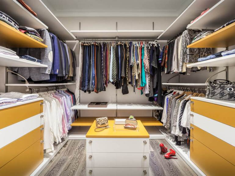 Remarkable closet storage solutions #walkinclosetdesign #closetorganization #bedroomcloset