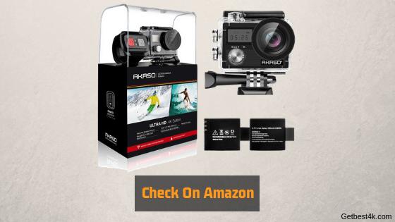 Akaso brave4 4K camera