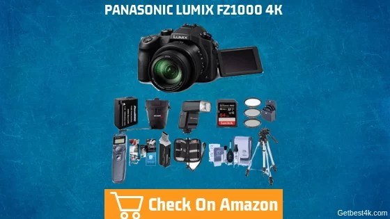 Panasonic DMC-FZ1000 4K Lumix