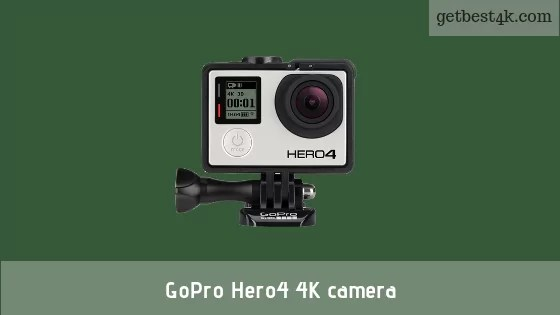 GoPro Hero4 4K camera