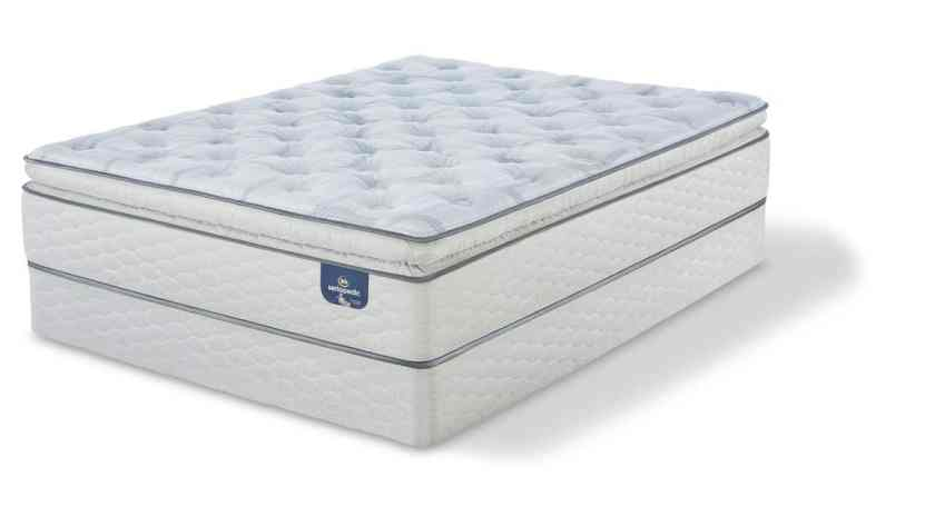 Serta Sertapedic Carterson Super Pillow Top Plush Mattress
