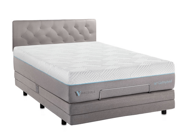 Wellsville 14 inches Gel Hybrid Mattress