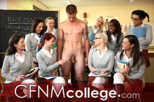 college cfnm handjob gif
