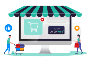 borderless e-commerce Direct debit gateway