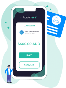 borderless direct debit gateway can be used from any device