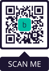 borderless contactless payment QR code