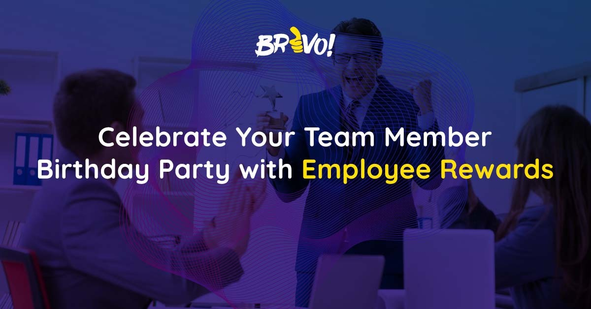 Celebrate Your Team Member Birthday Party with Employee Rewards