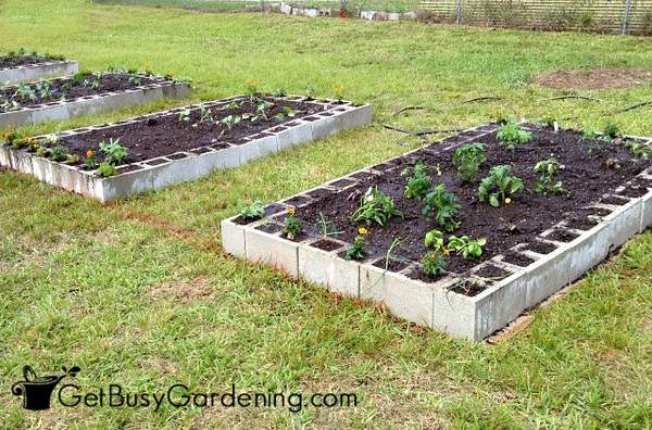 How Many Cinder Blocks Do I Need Build Raised Garden