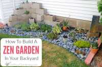 How To Make A Zen Garden In Your Backyard - Get Busy Gardening