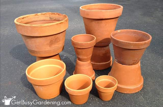 how to paint terracotta