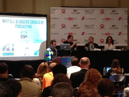 Blog World Podcasting Panel