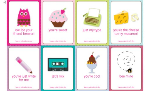 20 Free Valentine Printables via Mandy's Party Printables by Buttoned Up