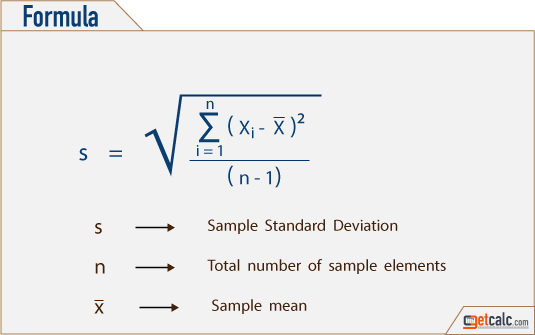 Coefficient of Variance for 6.7. 7.5. 9.2 & 7.3 - Workout