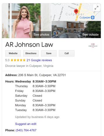 AR Johnson Law GMB