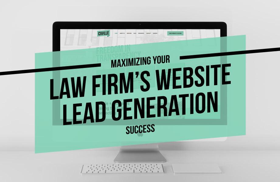 civille website lead gen