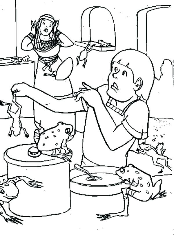 10 Plagues Of Egypt Coloring Pages at GetColorings.com