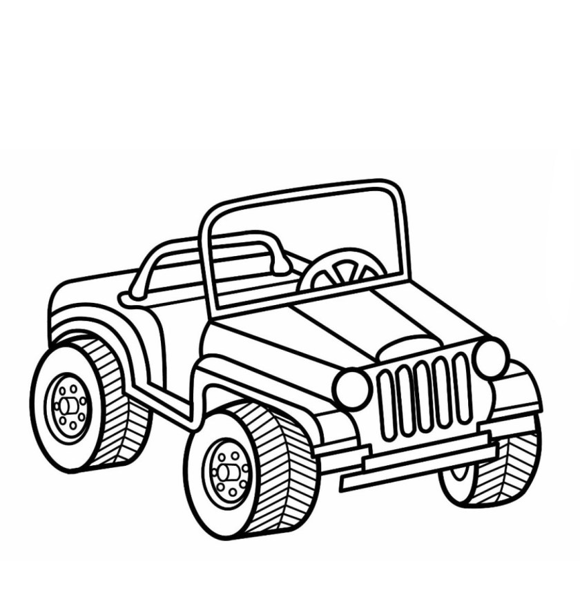 4 wheeler coloring pages at getcolorings  free