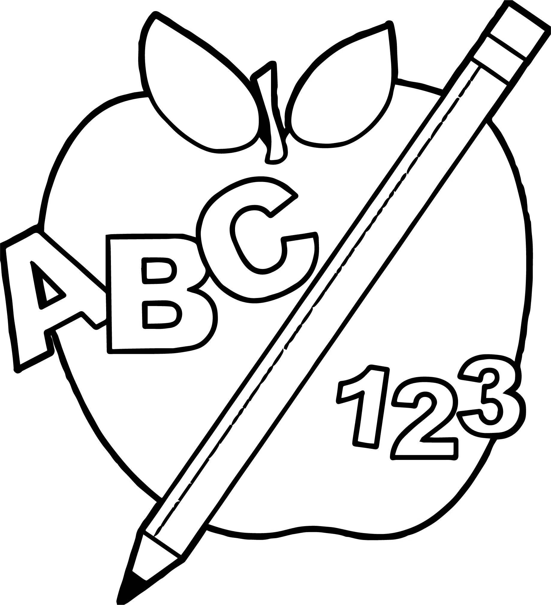 Abc Blocks Coloring Pages At Getcolorings