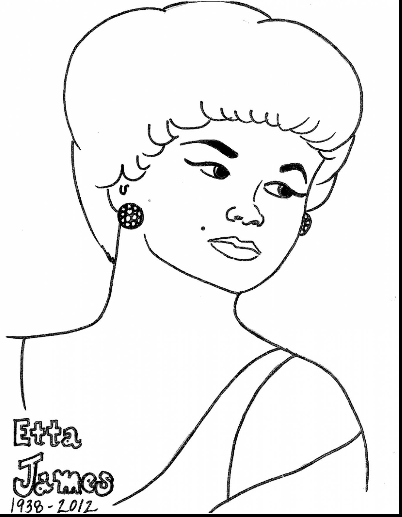 African American Woman Coloring Pages At Getcolorings