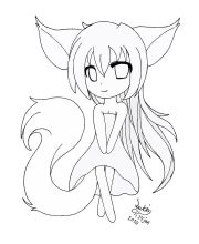 gothic anime coloring pages