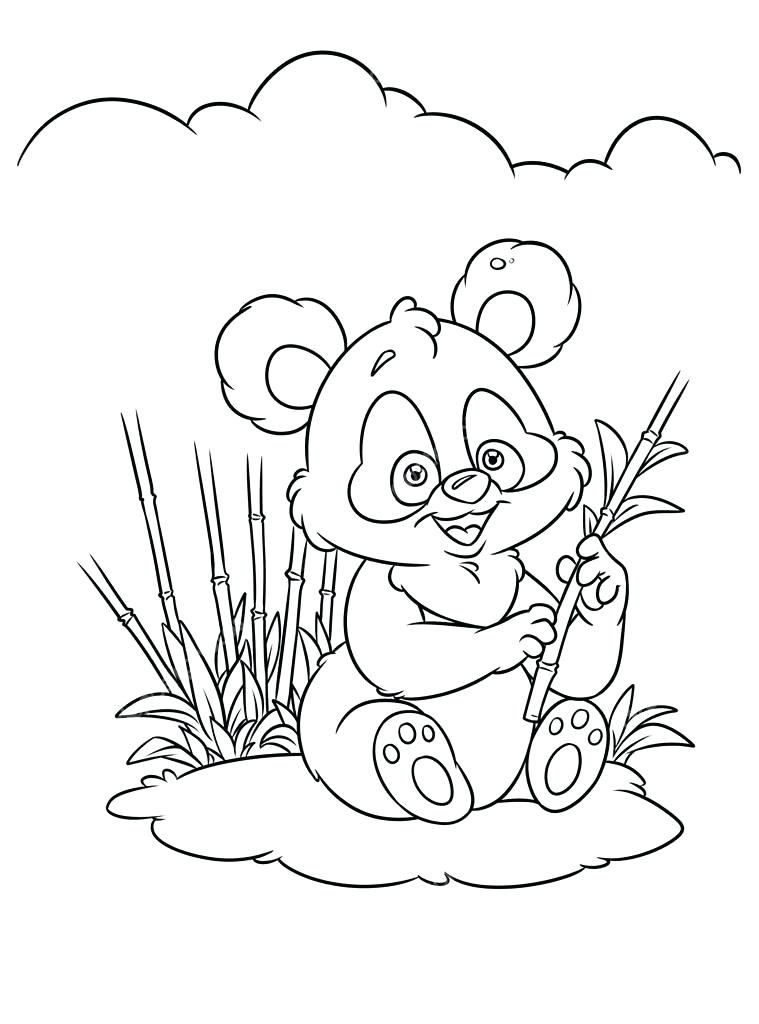 Anime Panda Coloring Pages at GetColorings Free