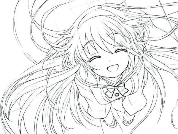20 Kawaii Girl Anime Wolf Coloring Pages Ideas And Designs
