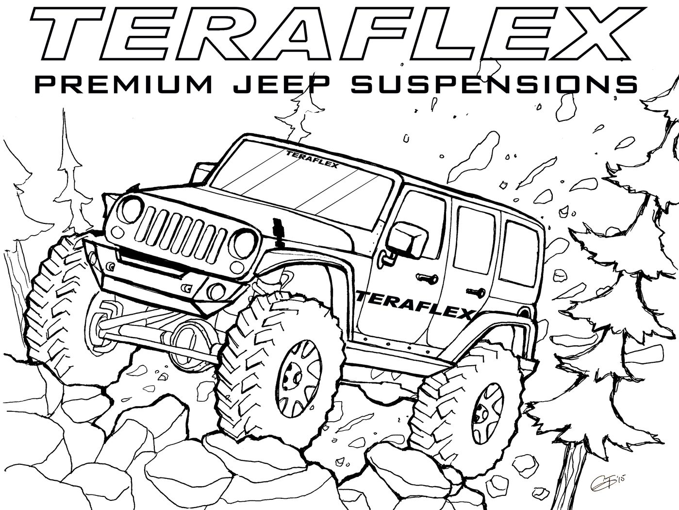 Army Jeep Coloring Pages At Getcolorings