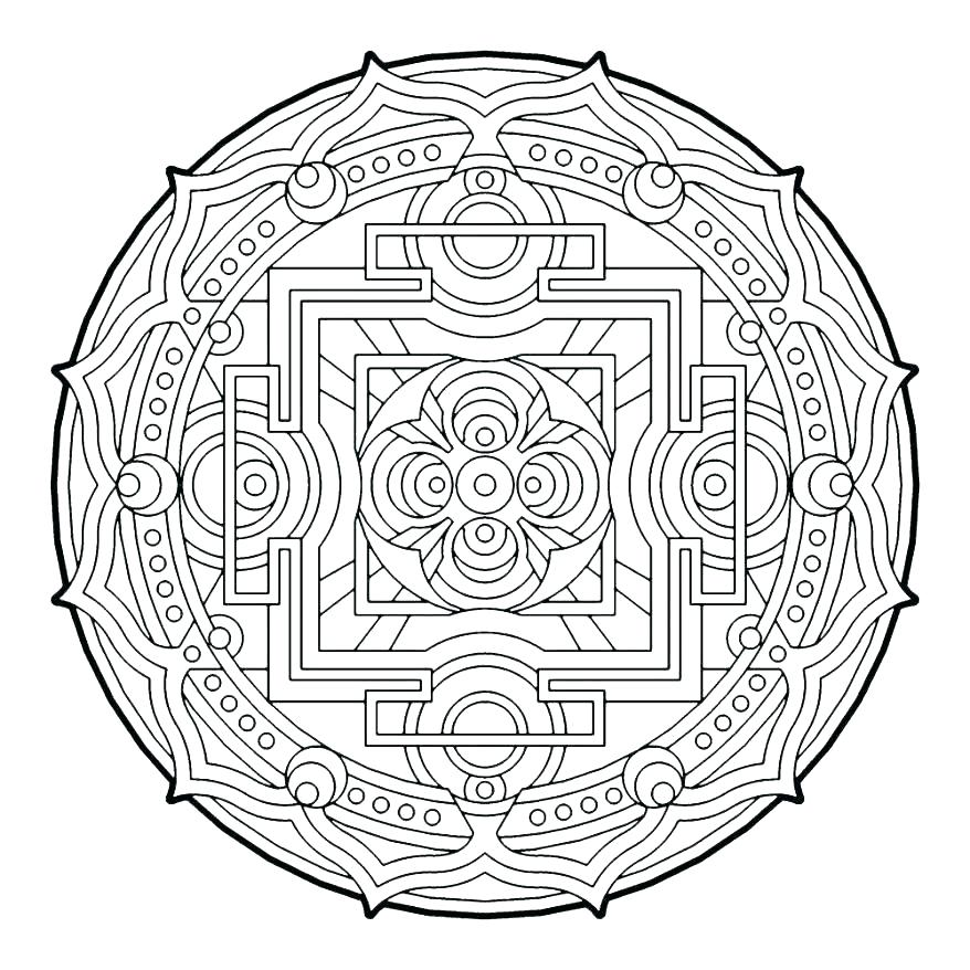 Aztec Designs Pages Coloring Pages