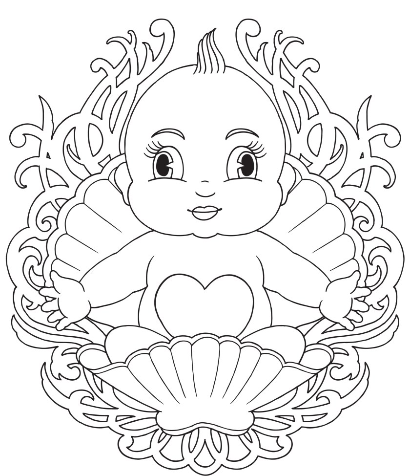 baby elsa coloring pages at getcolorings  free
