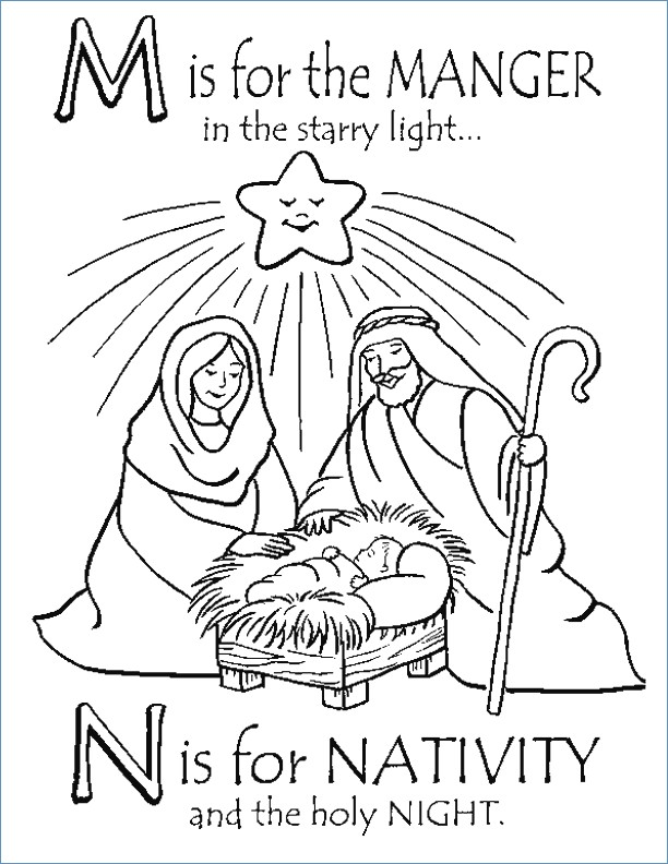 baby jesus in a manger coloring pages at getcolorings