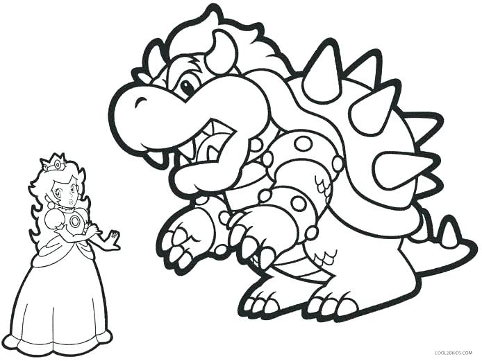 Baby Princess Peach Coloring Pages at GetColorings.com