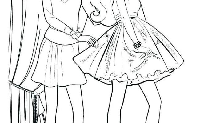 Barbie And Friends Coloring Pages At Getcolorings Dokter Andalan