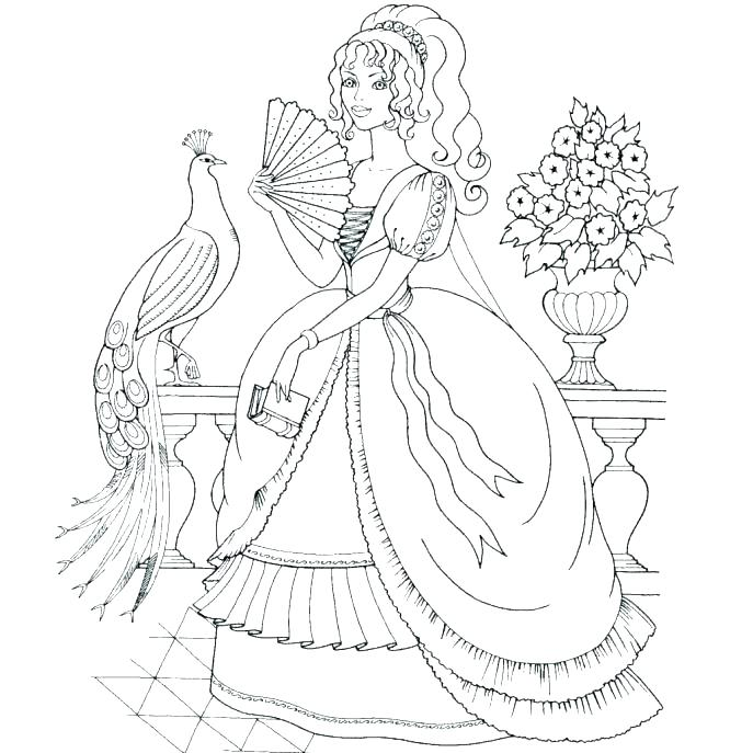 Barbie And Ken Printable Coloring Pages
