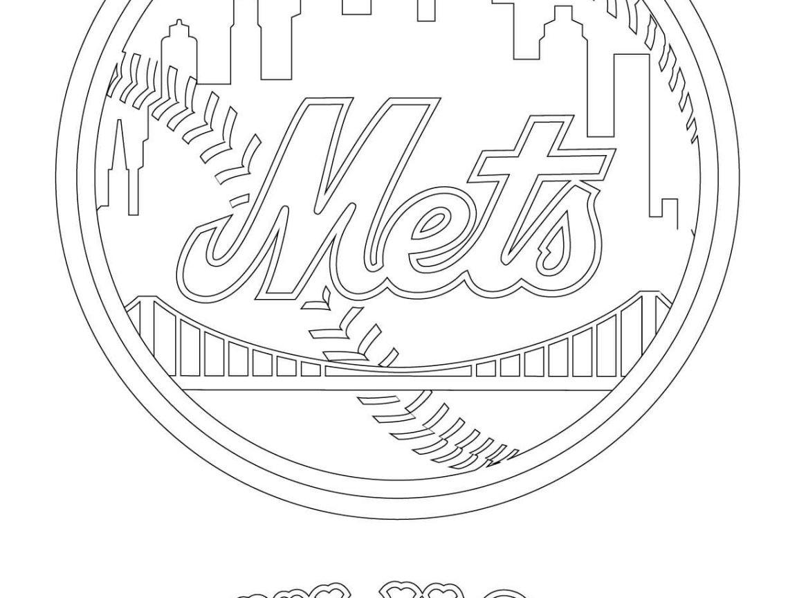 Baseball Coloring Pages Mlb At Getcolorings