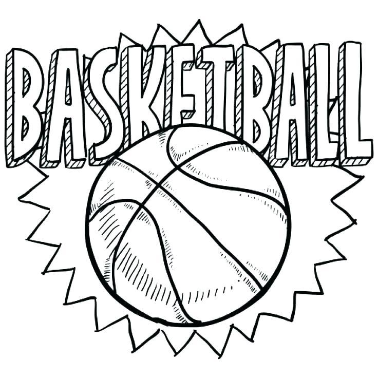 Basketball Hoop Coloring Page At Getcolorings Com