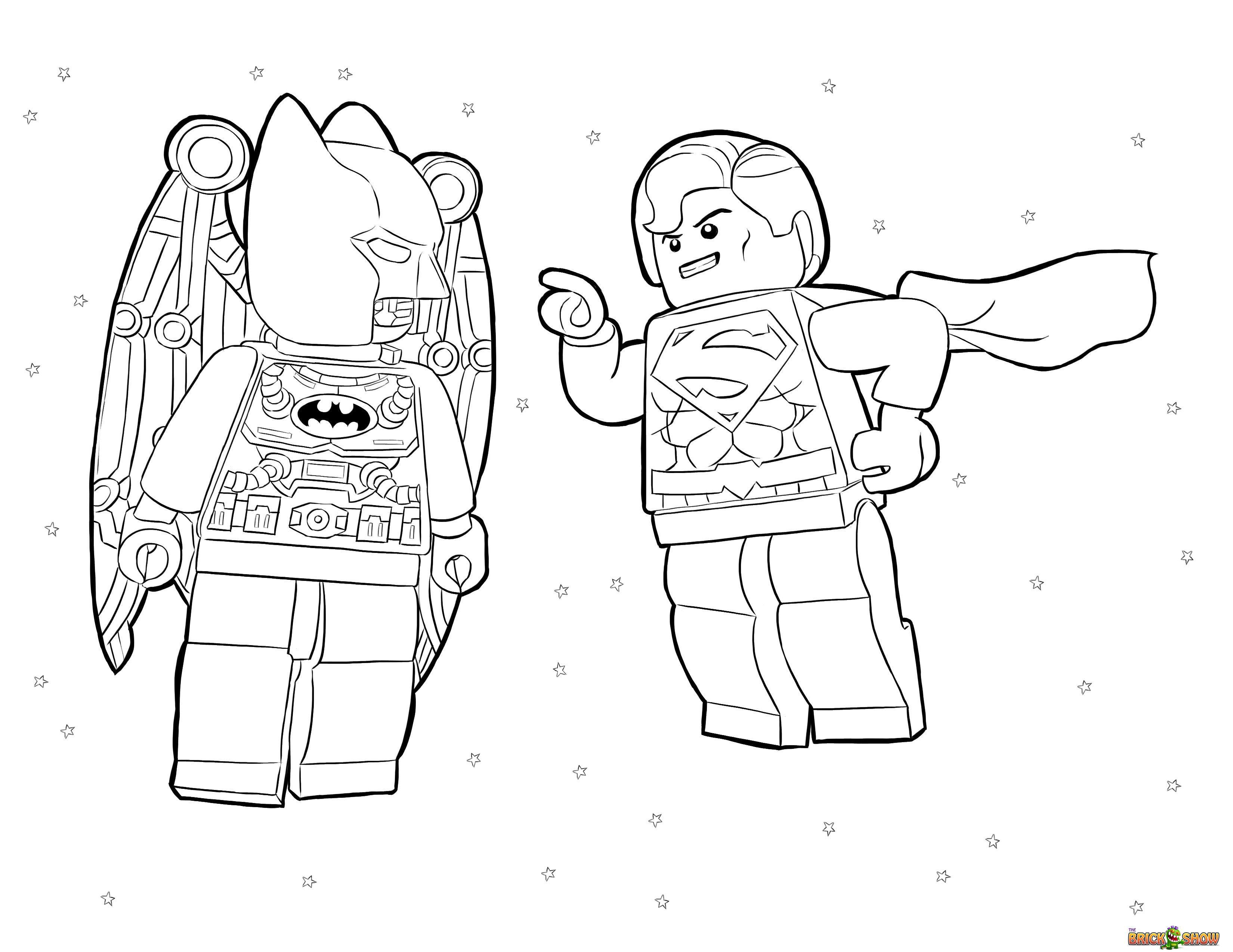 Batman Vs Superman Coloring Pages At Getcolorings